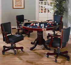 coaster table and chairs coaster mitchell 5 piece 3 in 1 game table set dunk bright