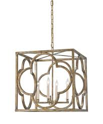 Currey And Company Lighting Currey And Company 9360 Cosette 18 Inch Wide 4 Light Large Pendant