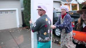 reverse trick or treating with door 2015 trent toney youtube