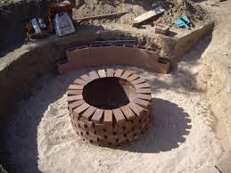 Brick Firepits Brick Pit Pit Ideas