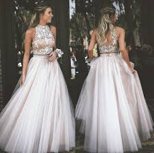 where to buy tulle buy two prom dress high neck tulle with rhinestone