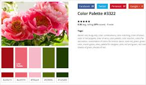 matching color schemes get color schemes generated from stock photos with colorpalettes net