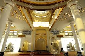 interior of the crystal mosque a k a masjid kristal the mosque