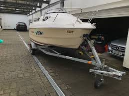boat for sale quicksilver 460 with almost new 50hp mercury