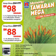 momento mega deals home renovation promotion by nippon paint