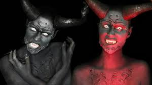 p td emperors new clothes demon makeup tutorial youtube