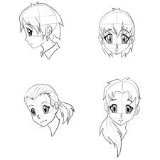 draw anime faces u0026 heads drawing manga faces step by step