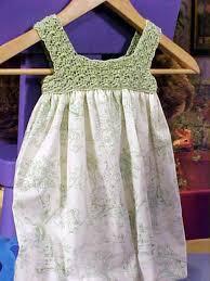 how to crochet a child u0027s dress hgtv
