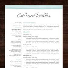 instant download resume template cv template