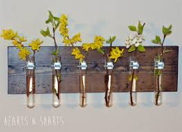 hanging test tube wall planter hearts u0026 sharts
