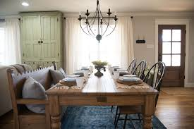 fixer upper dining table hgtv fixer upper the carriage house dining room re creation