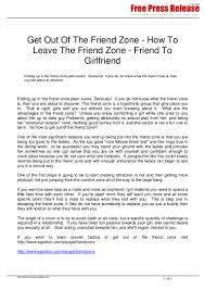 How To Leave Comfort Zone Escape The Friend Zone