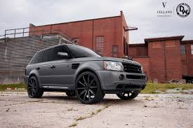 matte red range rover range rover sport on vellano vti concave vellano forged wheels blog