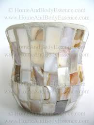 yankee candle mosaic mother of pearl votive holder motif classic