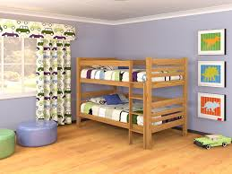 HOMESTEAD PINE DOUBLE BUNK M In Bunk Beds Bedding Furniture - Pine bunk bed