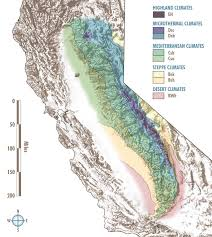 california map desert region climate of the nevada