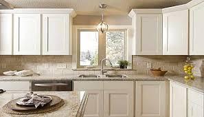 Shaker Door Kitchen Cabinets Open Above Even White Shaker Kitchen Cabinets Simple For The
