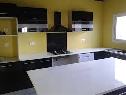 cuisine noir et jaune cuisine noir et jaune excellent cuisine noir et jaune meuble de