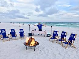 Blue Mountain Beach Florida Map by 30a Beach Bonfires 285 Beach Fire Services W Smores For 30a