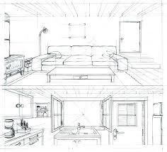 dessin chambre en perspective dessin chambre en perspective dessin dessiner une chambre en