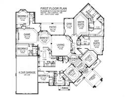 mira vista luxury home blueprints residential house plan mira vista house plan first floor plan