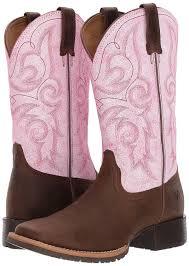 amazon com ariat women u0027s hybrid rancher western cowboy boot