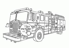 fire engine coloring kids transportation coloring pages