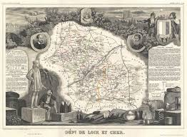 Loire Valley France Map by File 1852 Levasseur Map Of The Department De Loir Et Cher France