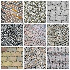Types Of Pavers For Patio Paving Patterns For Patio Floors And Sidewalks