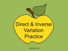 make solving direct and inverse variations more enjoyable for your