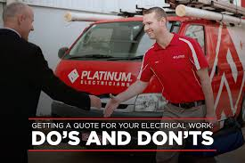 job quotes perth getting a quote for your electrical work do u0027s and don u0027ts