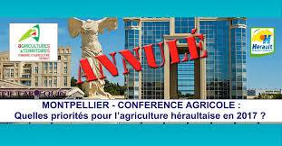 chambre agriculture montpellier actualités montpellier conference agricole quelles priorités