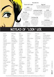 writing u2013 instead of using u201clook u201d use u2026 learning english and