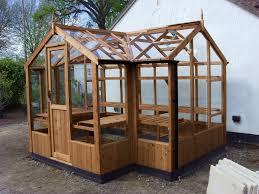 swallow cygnet 6x11 t shaped wooden greenhouse
