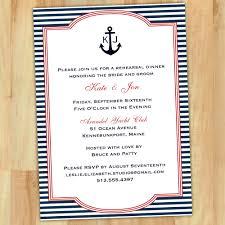 diy rehearsal dinner invitations nautical rehearsal dinner invitations cloveranddot