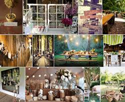 rustic forest wedding themed decoration wedding pinterest