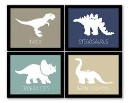 Interesting Kids Bedroom Artwork Transportation Theme Boy Nursery - Dinosaur kids room