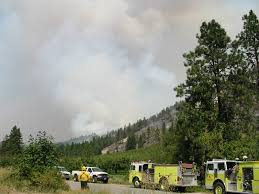 Wildfires Near Ephrata Wa by Forest Fires