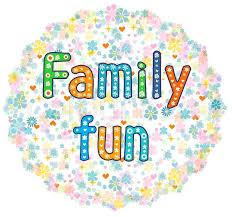 family fun decorative lettering text t shirt bag design poster
