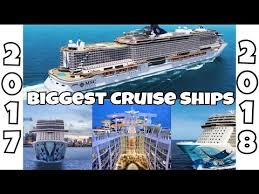 largest cruise ship in the world biggest cruise ships in the world by 2018 top 10 future vessels