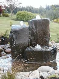 Aquascape Water Features Beautiful Stone Water Fountains Aquascape Grooved Natural Black