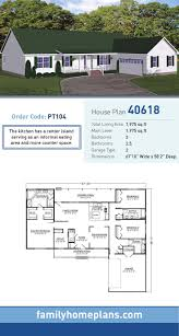 66 best ranch style home plans images on pinterest ranch house