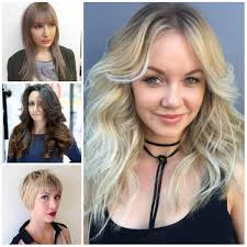 hairstyles for oval faces for 2017 haircuts hairstyles 2017 and
