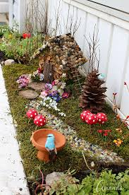 Fairy Garden Craft Ideas - garden fairy house gardening ideas