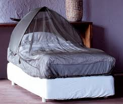 Travel Mosquito Net For Bed Plus Impregnated Pop Up Dome Mosquito Net