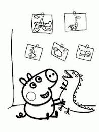 dibujo peppa pig colorear buscar google