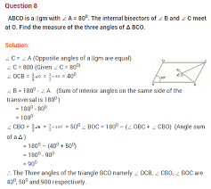 understanding quadrilaterals ncert extra questions for class 8