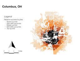 Columbus Ohio Traffic Map by Columbus Oh Bike Lab