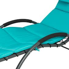 Chaise Lounge Furniture Arc Curved Hammock Dream Chaise Lounge Chair Outdoor Patio Pool