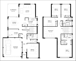 residence floor plan contemporary two story residence floor plans contemporary medium